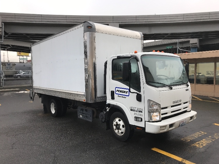 Medium Duty Box Truck-Light and Medium Duty Trucks-Isuzu-2013-NPR-SEATTLE-WA-53,982 miles-$36,000