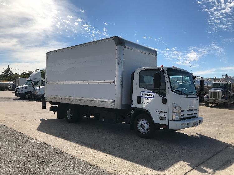 Medium Duty Box Truck-Light and Medium Duty Trucks-Isuzu-2013-NPR-BEAUMONT-TX-105,102 miles-$28,000
