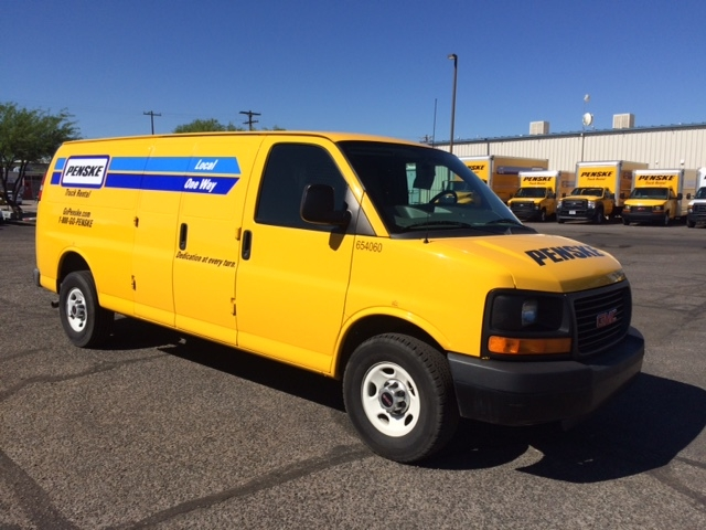 Cargo Van (Panel Van)-Light and Medium Duty Trucks-GMC-2012-Savana G23705-TUCSON-AZ-101,299 miles-$12,750