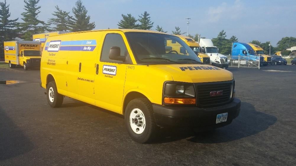 Cargo Van (Panel Van)-Light and Medium Duty Trucks-GMC-2012-Savana G23705-CINCINNATI-OH-122,797 miles-$11,250