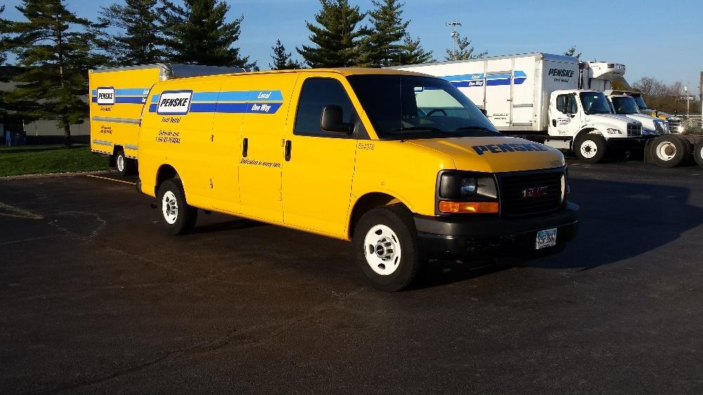 Cargo Van (Panel Van)-Light and Medium Duty Trucks-GMC-2012-Savana G23705-DAYTON-OH-101,321 miles-$12,250