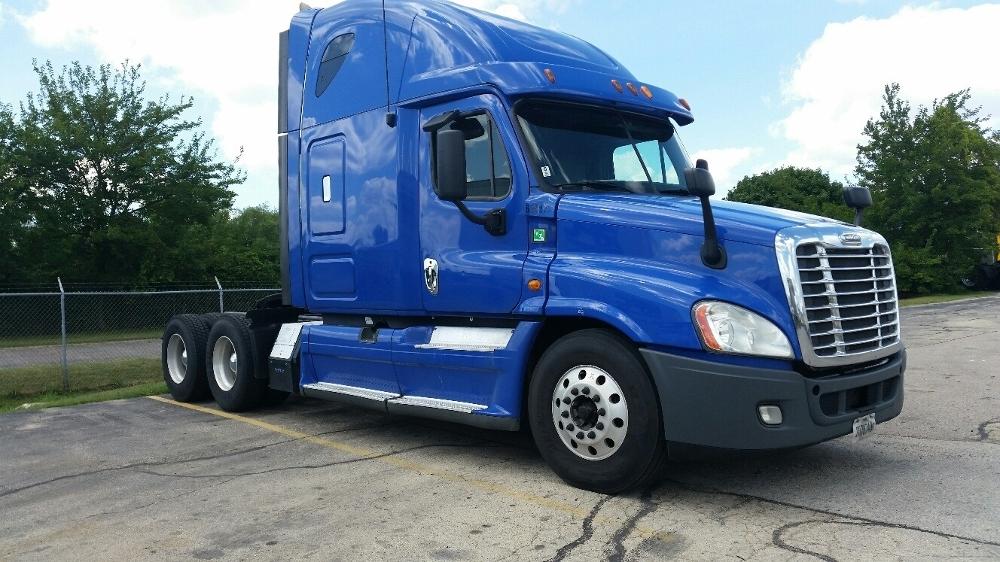 Sleeper Tractor-Heavy Duty Tractors-Freightliner-2013-Cascadia 12564ST-ROCKFORD-IL-506,956 miles-$48,750