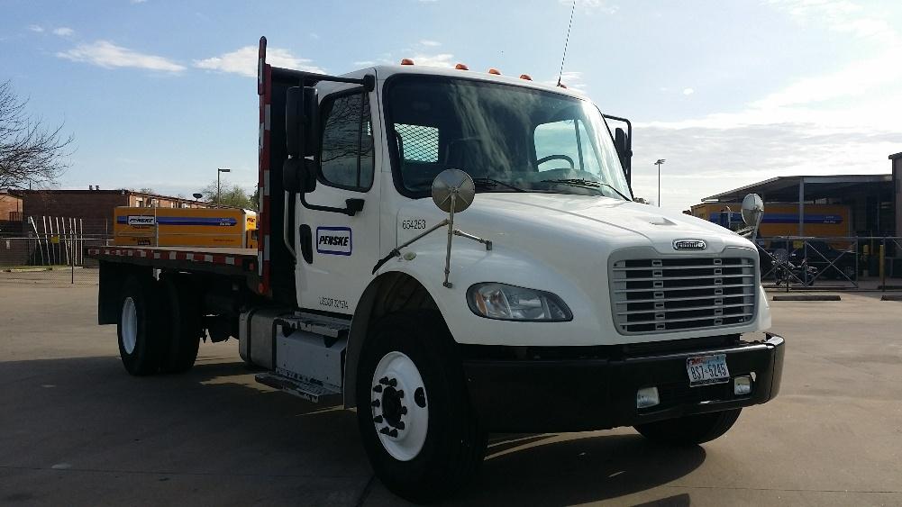 Flatbed Truck-Light and Medium Duty Trucks-Freightliner-2013-M2-AUSTIN-TX-199,046 miles-$45,500