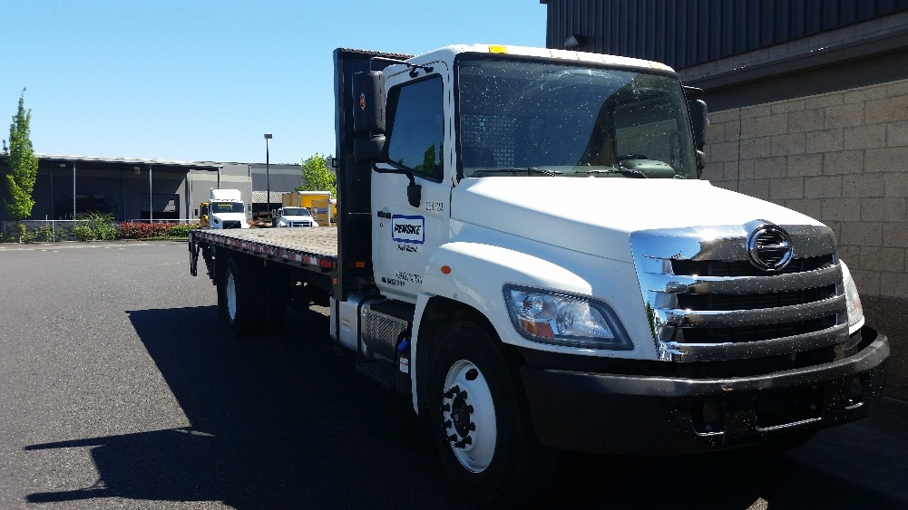 Flatbed Truck-Light and Medium Duty Trucks-Hino-2013-268-PORTLAND-OR-56,758 miles-$50,000