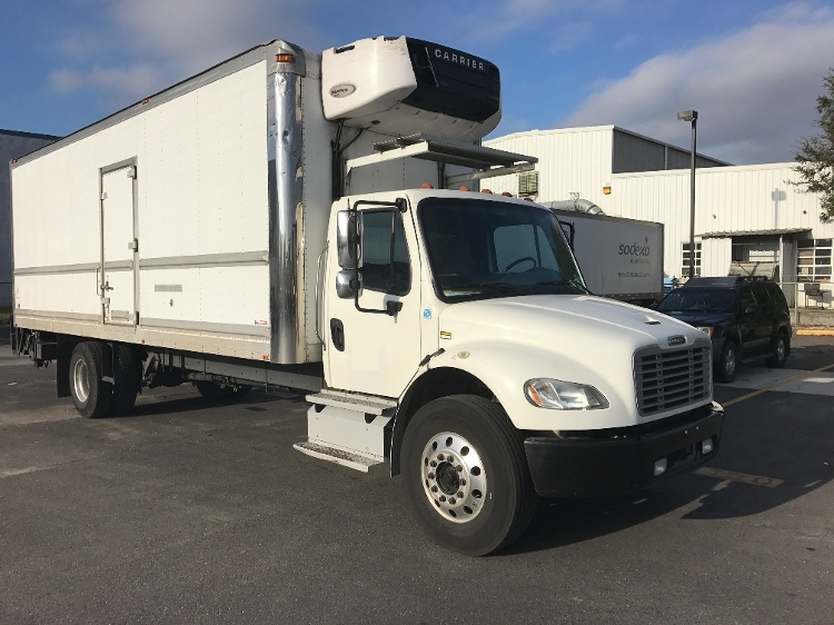 Reefer Truck-Light and Medium Duty Trucks-Freightliner-2013-M2-HAMMOND-LA-136,450 miles-$54,750