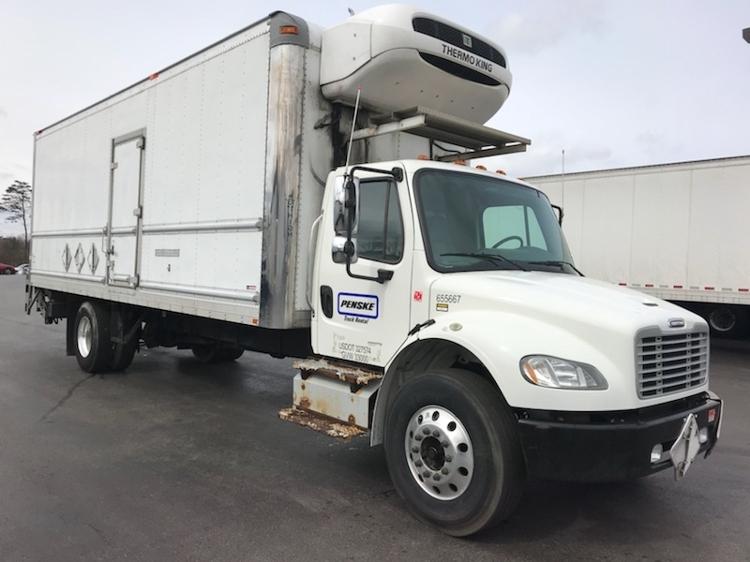 Reefer Truck-Light and Medium Duty Trucks-Freightliner-2013-M2-ALLENTOWN-PA-262,925 miles-$37,500