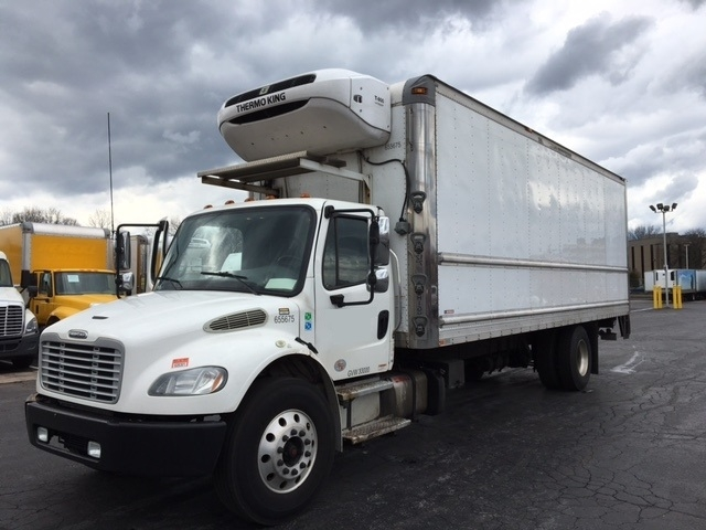 Reefer Truck-Light and Medium Duty Trucks-Freightliner-2013-M2-READING-PA-246,177 miles-$38,750