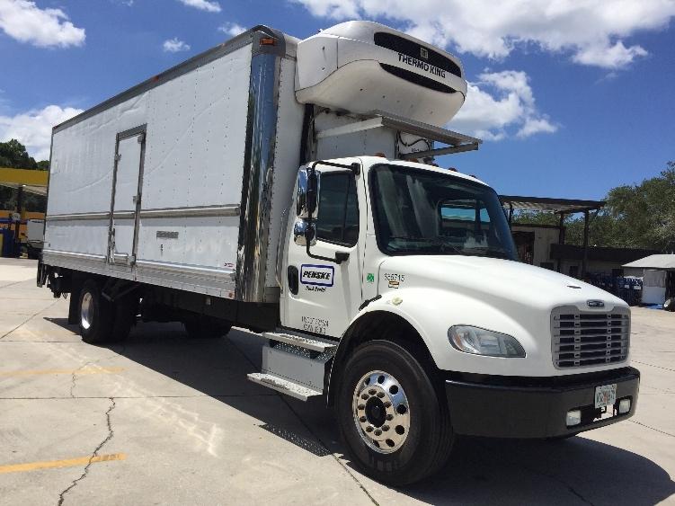 Reefer Truck-Light and Medium Duty Trucks-Freightliner-2013-M2-LAKELAND-FL-158,650 miles-$49,750