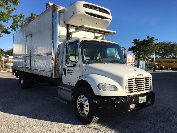 Reefer Truck-Light and Medium Duty Trucks-Freightliner-2013-M2-POMPANO BEACH-FL-215,047 miles-$47,750