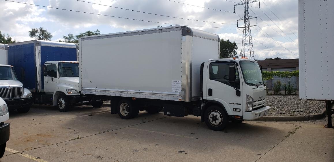 Medium Duty Box Truck-Light and Medium Duty Trucks-Isuzu-2013-NQR-ALLEN PARK-MI-136,512 miles-$25,250