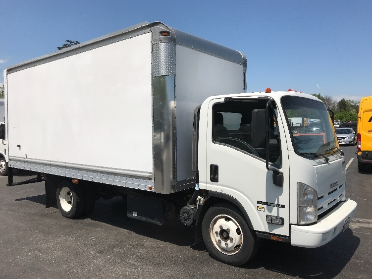 Medium Duty Box Truck-Light and Medium Duty Trucks-Isuzu-2013-NQR-JESSUP-MD-197,399 miles-$22,250