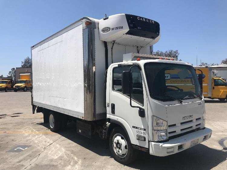 Reefer Truck-Light and Medium Duty Trucks-Isuzu-2013-NRR-TORRANCE-CA-57,034 miles-$47,250