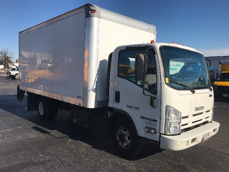Medium Duty Box Truck-Light and Medium Duty Trucks-Isuzu-2013-NPR-JESSUP-MD-135,505 miles-$17,500