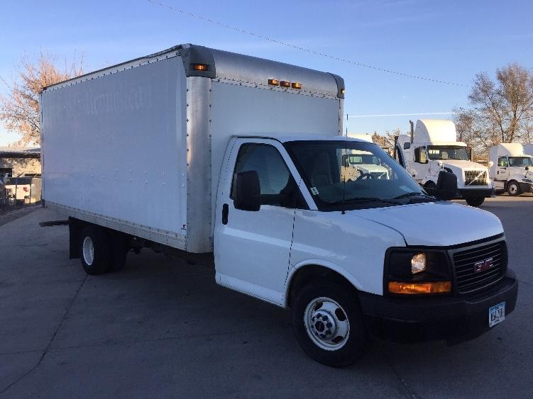 Light Duty Box Truck-Light and Medium Duty Trucks-GMC-2012-Savana G33903-DES MOINES-IA-158,469 miles-$13,000