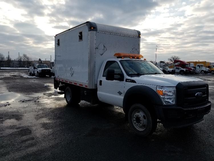 Medium Duty Box Truck-Light and Medium Duty Trucks-Ford-2012-F550-WHITE DEER-PA-107,945 miles-$22,750