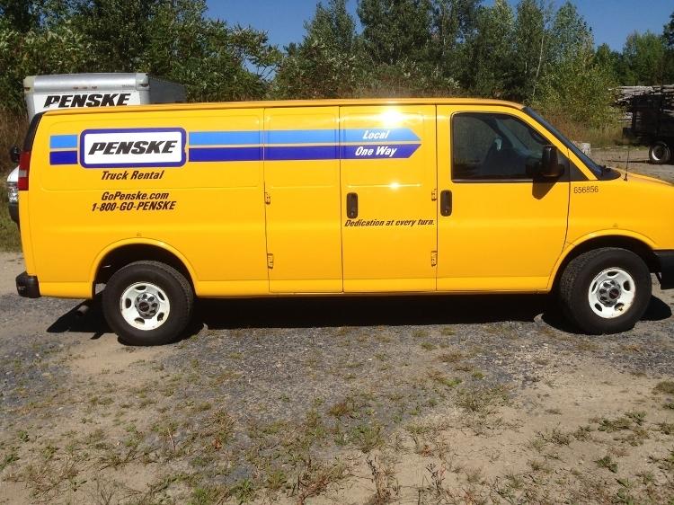 Cargo Van (Panel Van)-Light and Medium Duty Trucks-GMC-2012-Savana G23705-WATERTOWN-NY-104,464 miles-$11,250