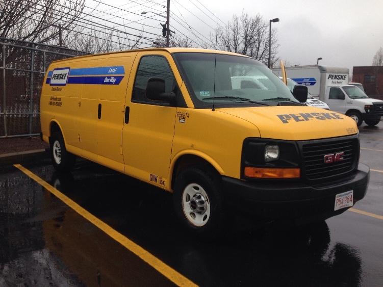 Cargo Van (Panel Van)-Light and Medium Duty Trucks-GMC-2012-Savana G23705-HAMPDEN-ME-91,465 miles-$13,500