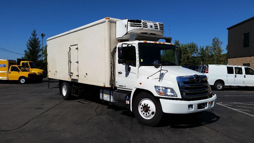 Reefer Truck-Light and Medium Duty Trucks-Hino-2013-338-BINGHAMTON-NY-169,059 miles-$35,000