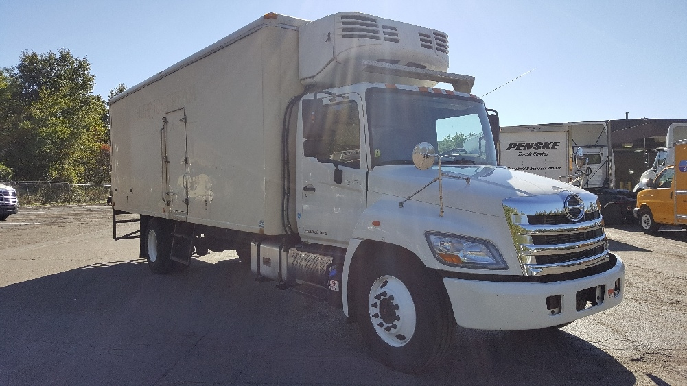 Reefer Truck-Light and Medium Duty Trucks-Hino-2013-338-BINGHAMTON-NY-157,424 miles-$23,750