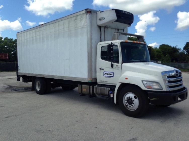 Reefer Truck-Light and Medium Duty Trucks-Hino-2013-268-POMPANO BEACH-FL-87,074 miles-$58,750