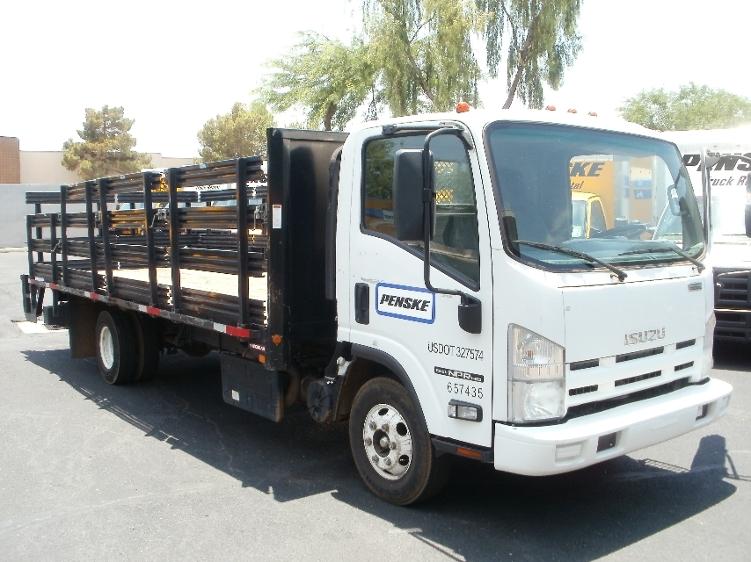 Flatbed Truck-Light and Medium Duty Trucks-Isuzu-2013-NPR-PHOENIX-AZ-78,160 miles-$29,500