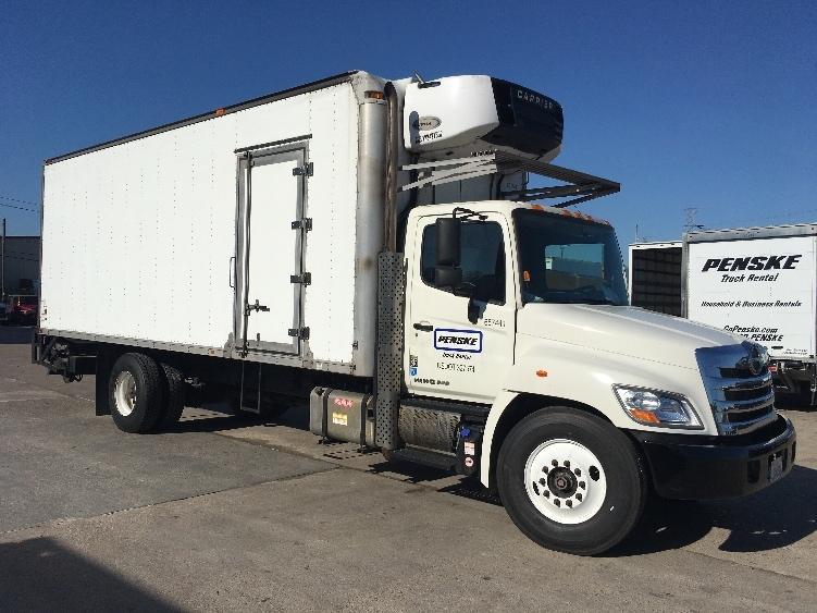Reefer Truck-Light and Medium Duty Trucks-Hino-2013-338-HOUSTON-TX-285,362 miles-$22,750