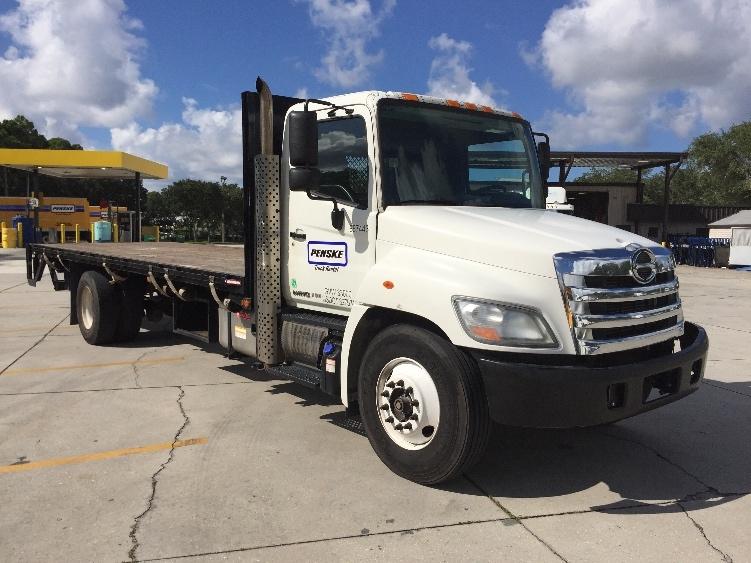 Flatbed Truck-Light and Medium Duty Trucks-Hino-2013-338-LAKELAND-FL-200,866 miles-$37,000