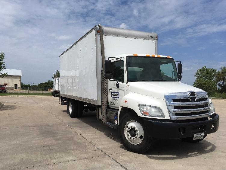 Medium Duty Box Truck-Light and Medium Duty Trucks-Hino-2013-338-DALLAS-TX-147,413 miles-$46,250