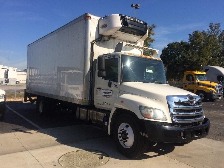 Reefer Truck-Light and Medium Duty Trucks-Hino-2013-268-MEDLEY-FL-110,684 miles-$54,000