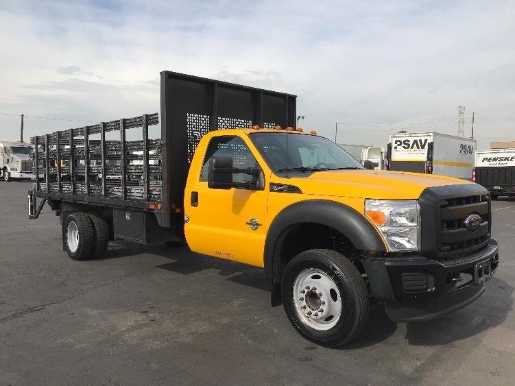 Flatbed Truck-Light and Medium Duty Trucks-Ford-2012-F450-TORRANCE-CA-66,686 miles-$30,750
