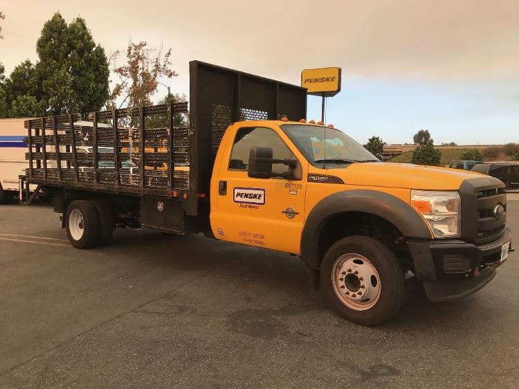 Flatbed Truck-Light and Medium Duty Trucks-Ford-2012-F450-TORRANCE-CA-93,052 miles-$27,750