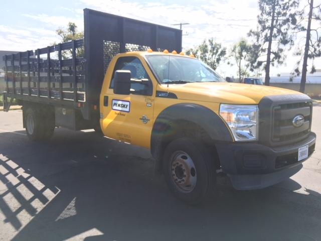 Flatbed Truck-Light and Medium Duty Trucks-Ford-2012-F450-TORRANCE-CA-100,300 miles-$26,750