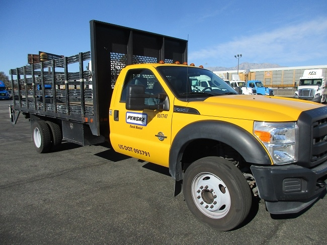Flatbed Truck-Light and Medium Duty Trucks-Ford-2012-F450-FONTANA-CA-76,589 miles-$31,250
