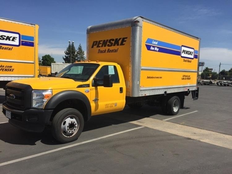 Medium Duty Box Truck-Light and Medium Duty Trucks-Ford-2012-F450-FRESNO-CA-138,049 miles-$9,000