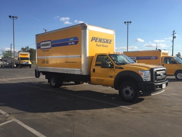 Medium Duty Box Truck-Light and Medium Duty Trucks-Ford-2012-F450-FRESNO-CA-184,861 miles-$16,750