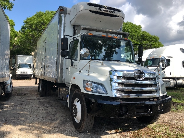 Reefer Truck-Light and Medium Duty Trucks-Hino-2013-268-MEDLEY-FL-167,688 miles-$45,750