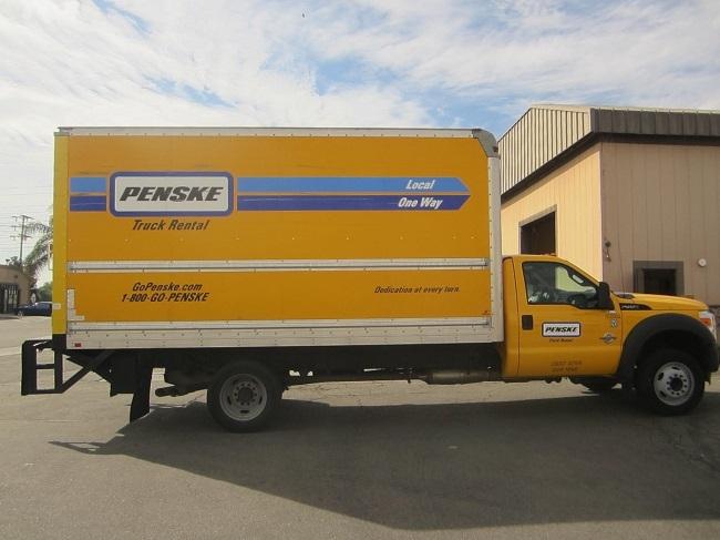 Medium Duty Box Truck-Light and Medium Duty Trucks-Ford-2012-F450-CHINO-CA-100,764 miles-$25,750