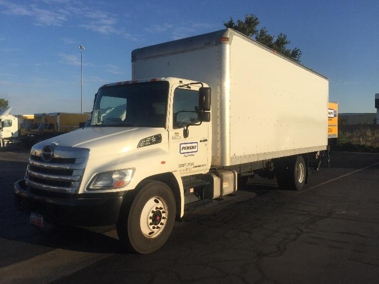 Medium Duty Box Truck-Light and Medium Duty Trucks-Hino-2013-268-WEST VALLEY CITY-UT-158,382 miles-$45,250