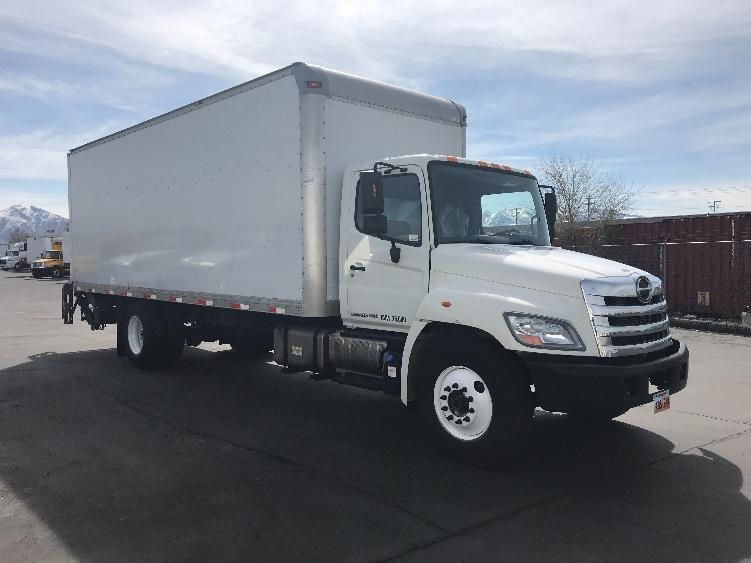 Medium Duty Box Truck-Light and Medium Duty Trucks-Hino-2013-268-WEST VALLEY CITY-UT-156,656 miles-$43,500