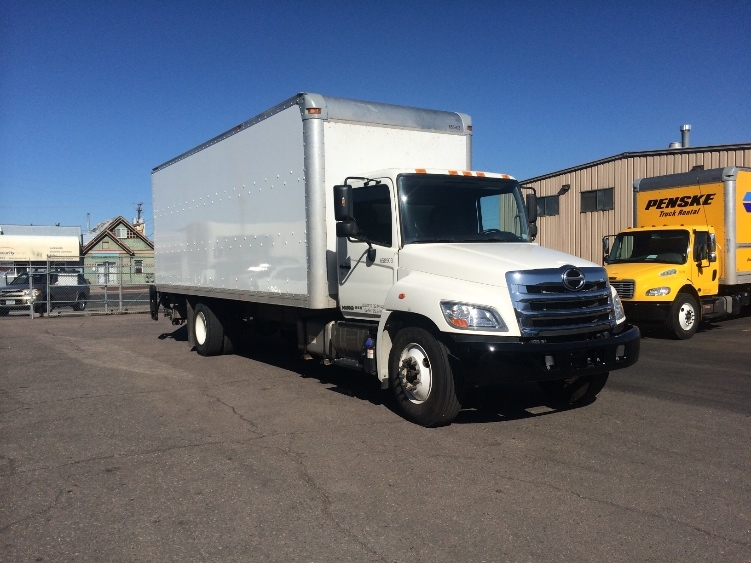 Medium Duty Box Truck-Light and Medium Duty Trucks-Hino-2013-268-ELK GROVE VILLAGE-IL-147,878 miles-$44,750