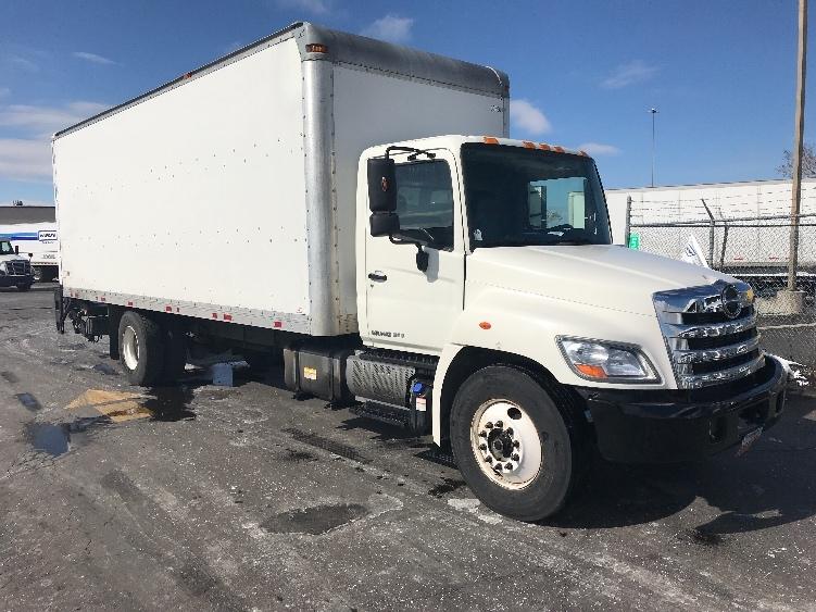 Medium Duty Box Truck-Light and Medium Duty Trucks-Hino-2013-268-WEST VALLEY CITY-UT-162,664 miles-$44,750