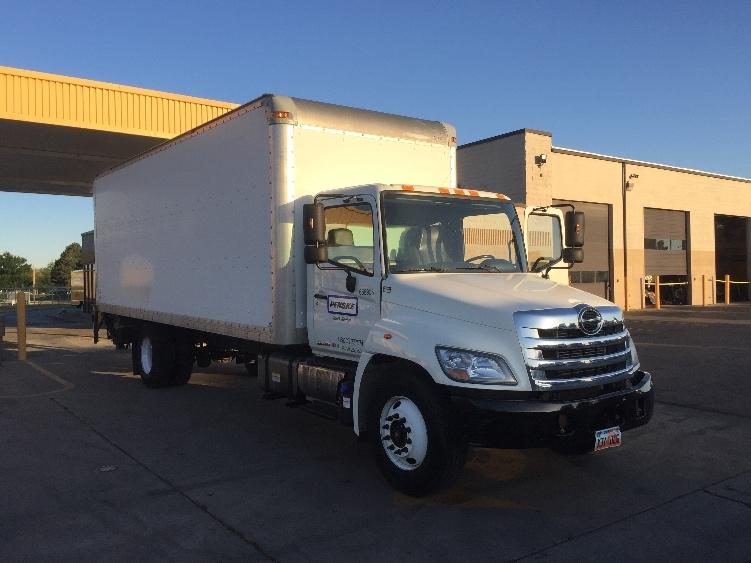Medium Duty Box Truck-Light and Medium Duty Trucks-Hino-2013-268-WEST VALLEY CITY-UT-117,850 miles-$53,750