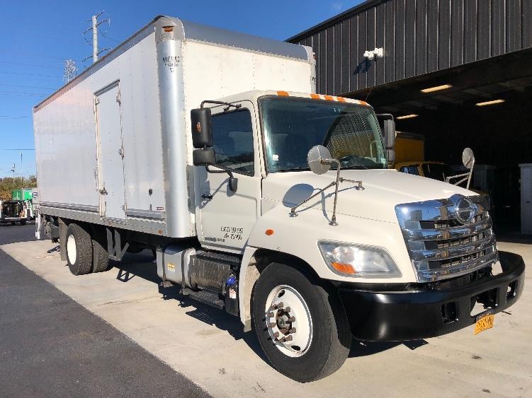 Medium Duty Box Truck-Light and Medium Duty Trucks-Hino-2013-268-ELMSFORD-NY-96,388 miles-$48,500