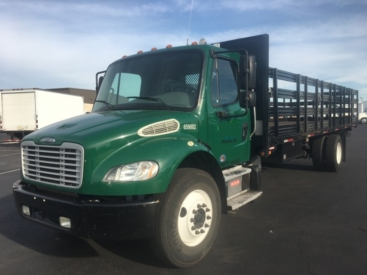 Flatbed Truck-Light and Medium Duty Trucks-Freightliner-2013-M2-PHOENIX-AZ-172,556 miles-$52,500