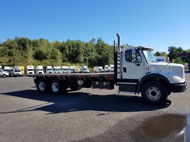 Flatbed Truck-Heavy Duty Tractors-Freightliner-2013-M211264S-BINGHAMTON-NY-195,190 miles-$58,750
