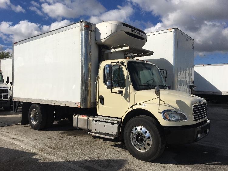 Reefer Truck-Light and Medium Duty Trucks-Freightliner-2013-M2-POMPANO BEACH-FL-154,706 miles-$36,500