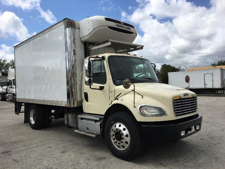 Reefer Truck-Light and Medium Duty Trucks-Freightliner-2013-M2-POMPANO BEACH-FL-97,102 miles-$45,500