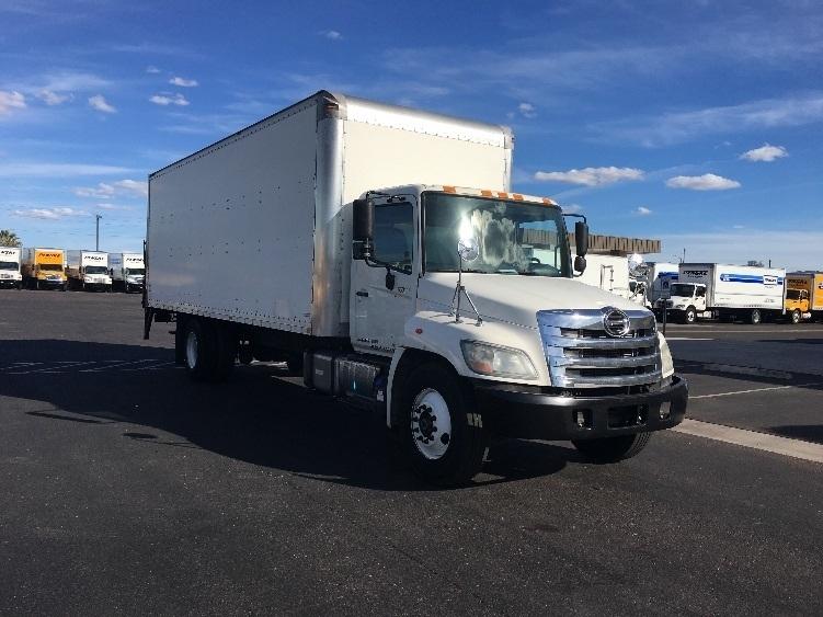 Medium Duty Box Truck-Light and Medium Duty Trucks-Hino-2013-268-PHOENIX-AZ-168,303 miles-$37,500