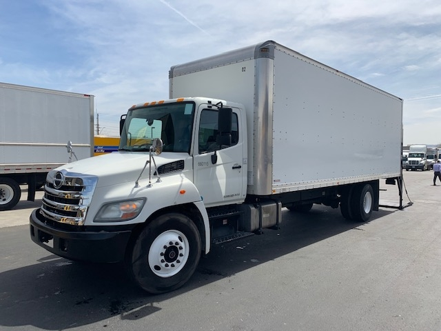 Medium Duty Box Truck-Light and Medium Duty Trucks-Hino-2013-268-PHOENIX-AZ-153,199 miles-$44,000