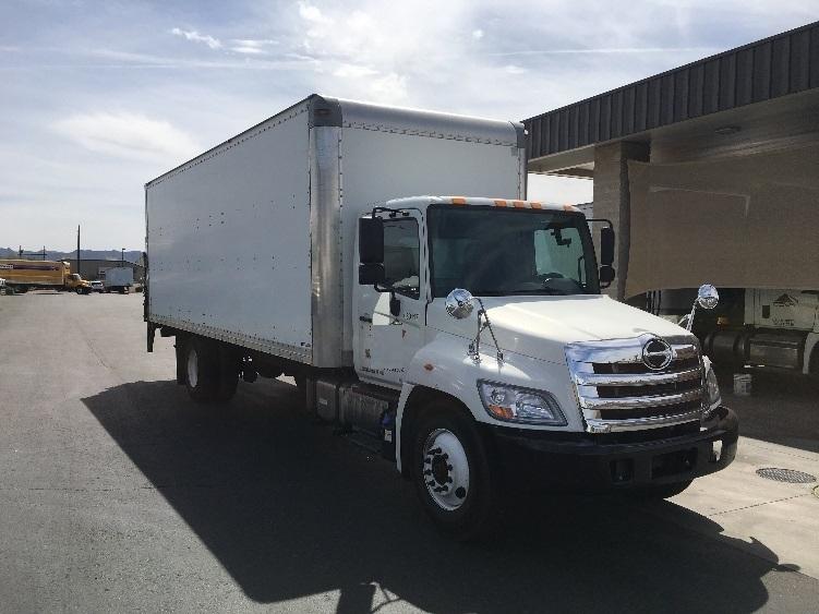 Medium Duty Box Truck-Light and Medium Duty Trucks-Hino-2013-268-PHOENIX-AZ-166,458 miles-$37,750
